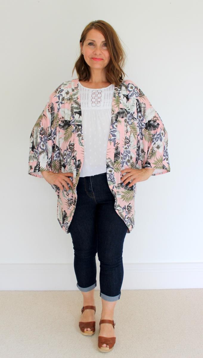 Simplicity 1108 Kimono Sewing Pattern Review.