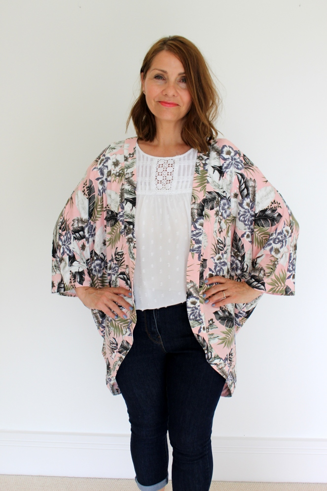 Simplicity 1108 Kimono Sewing Pattern Review.