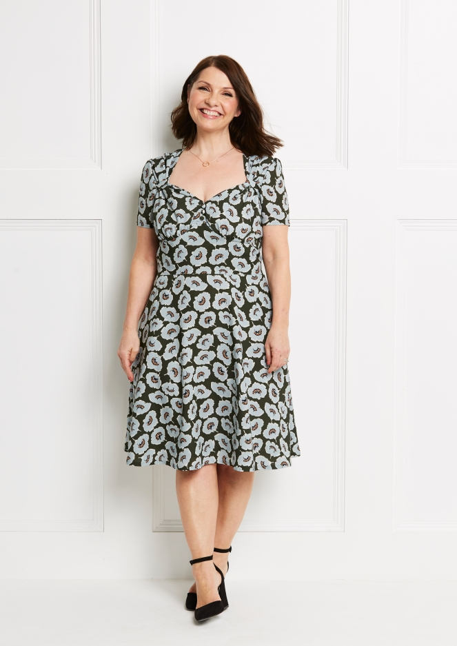 My Butterick B6380 Patterns By Gertie Tea Dress Pattern Review And